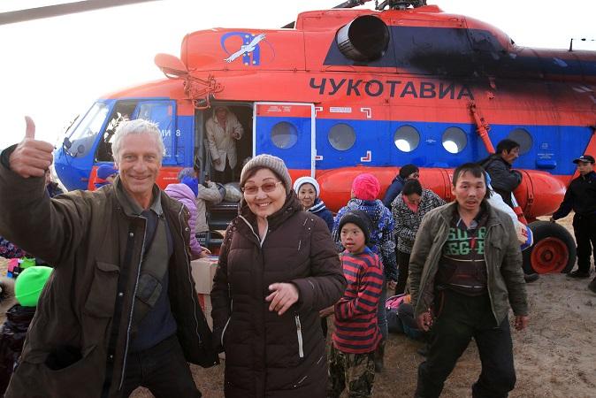 JF Lagrot pays tchoutche hélicoptère