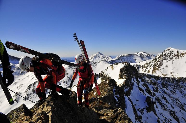 ski alpinisme sommet